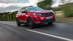 Al volante della Peugeot 3008 2021