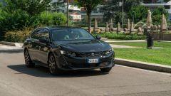 Al volante della Peugeot 508 SW 2019 1.6 PureTech Turbo Allure EAT8