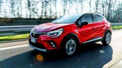Al volante della Renault Captur 2019