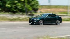 Al volante dell'Alfa Romeo Giulia Ti 2020