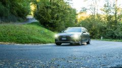 Al volante dell'Audi A4 Avant 40 TDI quattro