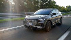 Al volante di nuova Audi Q4 e-tron Sportback: la prova video