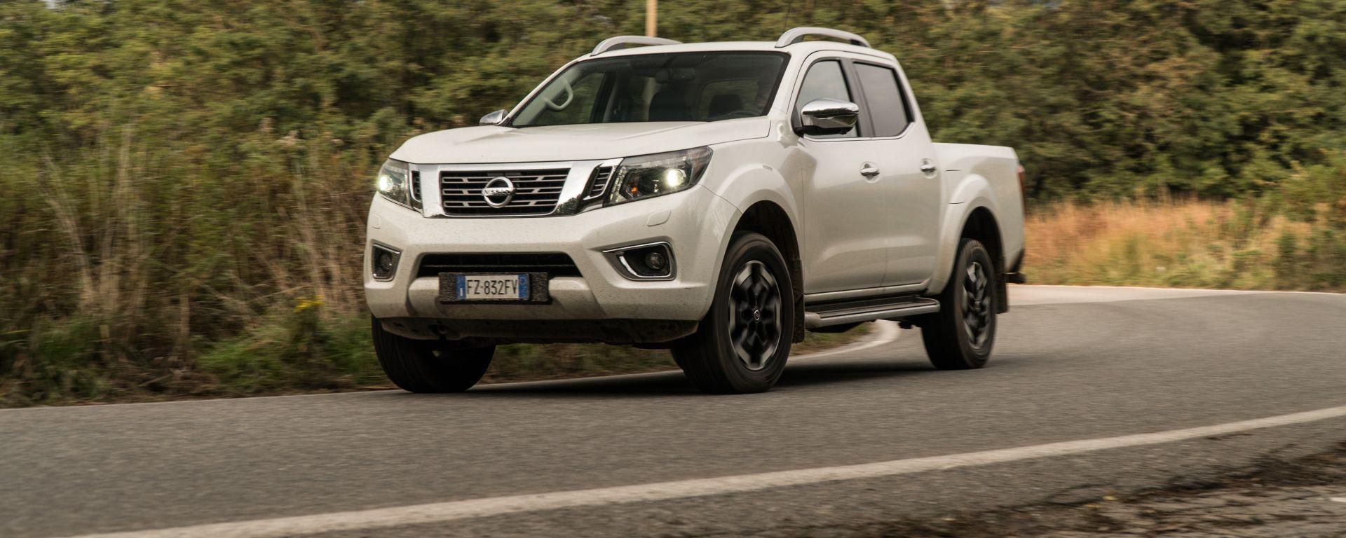 Nissan Navara 2.3 Tekna: col pick-up in città? Perché no!