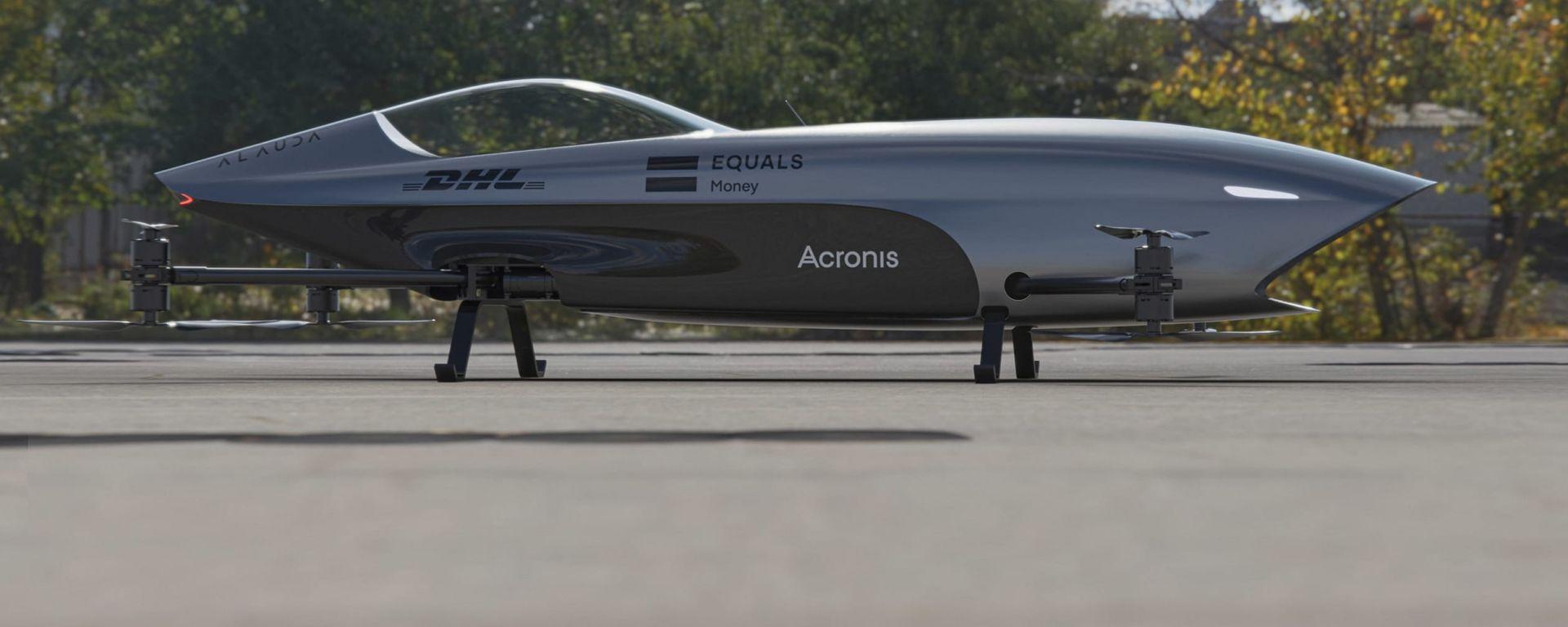 Alauda Aeronautics Airspeeder Mk3: laterale