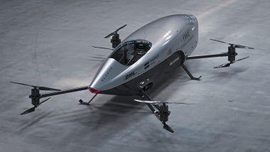 Alauda Airspeeder Mk3: posteriore