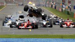 Albert Park di Melbourne - Ralf Schumacher vs Rubens Barrichello 2002