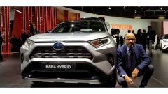 Novità Toyota a Parigi 2018: intervista ad Alberto Santilli - Immagine: 1