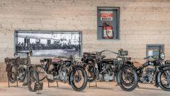 Alcune delle moto presenti nel Top Mountain Motorcycles Musem in Austria