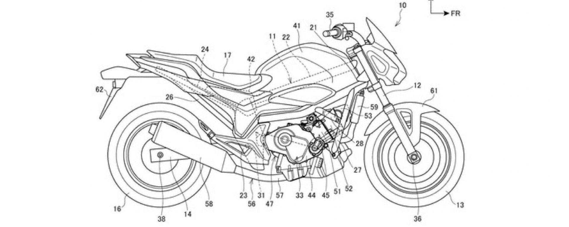Alcuni dettagli del progetto relativo al nuovo motore bicilindrico Honda da 850 cc