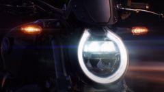 Alcuni frame del video teaser che annuncia l'arrivo della nuova Honda CB1000R 2021