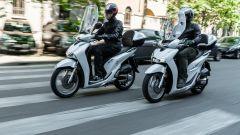 Alessandro sul suo Honda SH 150i 2019 e Danilo sul nuovo SH 150i 2020