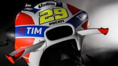 Alette aerodinamiche Ducati Moto GP Desmosedici 2016 - vista musetto anteriore