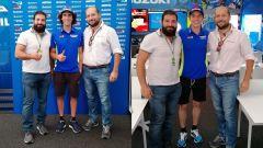 Alex Rins e Joan Mir, intervistati dagli inviati di Motorbox, Danilo Chissalé e Simone Valtieri