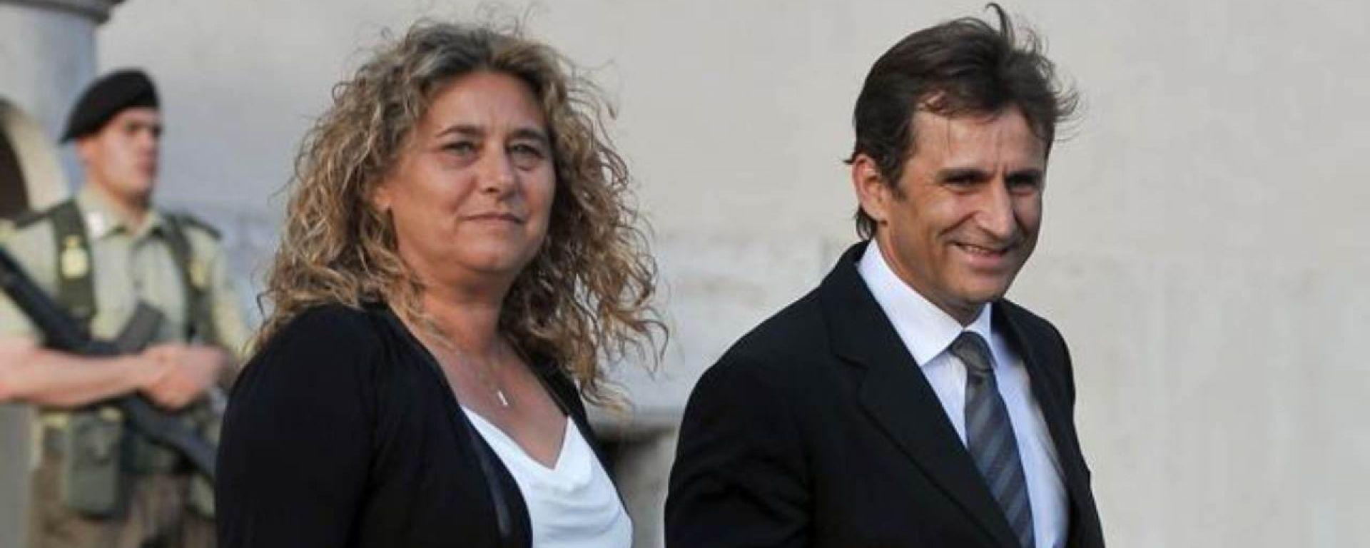 Alex Zanardi e la moglie Daniela