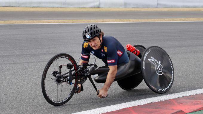 Alex Zanardi in azione