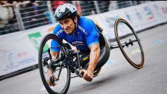 Alex Zanardi oro ai mondiale di paraciclismo a Emmen nel 2019