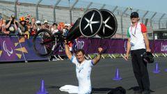 Alex Zanardi, oro alle Paralimpiadi di Rio