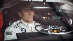 Alex Zanardi sulla BMW del Campionato DTM