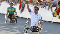 Alex Zanardi vince il suo secondo oro paralimpico ai Giochi di Londra 2012