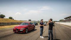 Alfa Giulia, Audi A4, Bmw Serie 3 e Mercedes Classe C: prova confronto - Immagine: 59