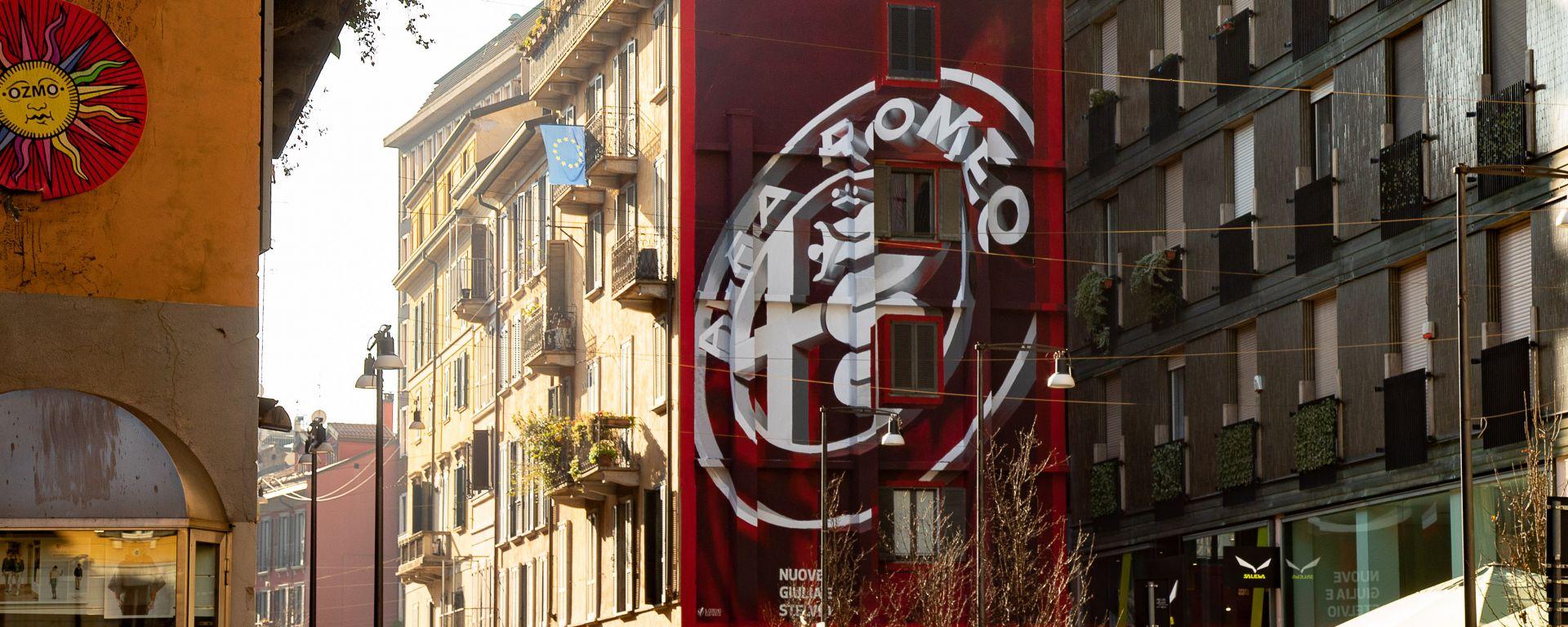 Un nuovo logo per festeggiare i 110 anni di Alfa Romeo