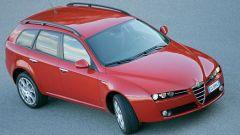 Alfa Romeo 159 Sportwagon 2008, vista 3/4 anteriore