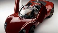 Alfa Romeo 33 Stradale, apertura porte in verticale