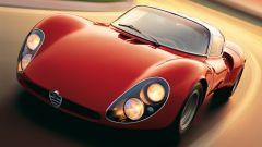 Alfa Romeo 33 Stradale, il classico design dei fari