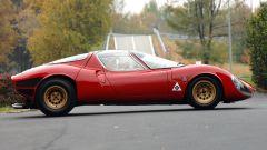 Alfa Romeo 33 Stradale, la fiancata