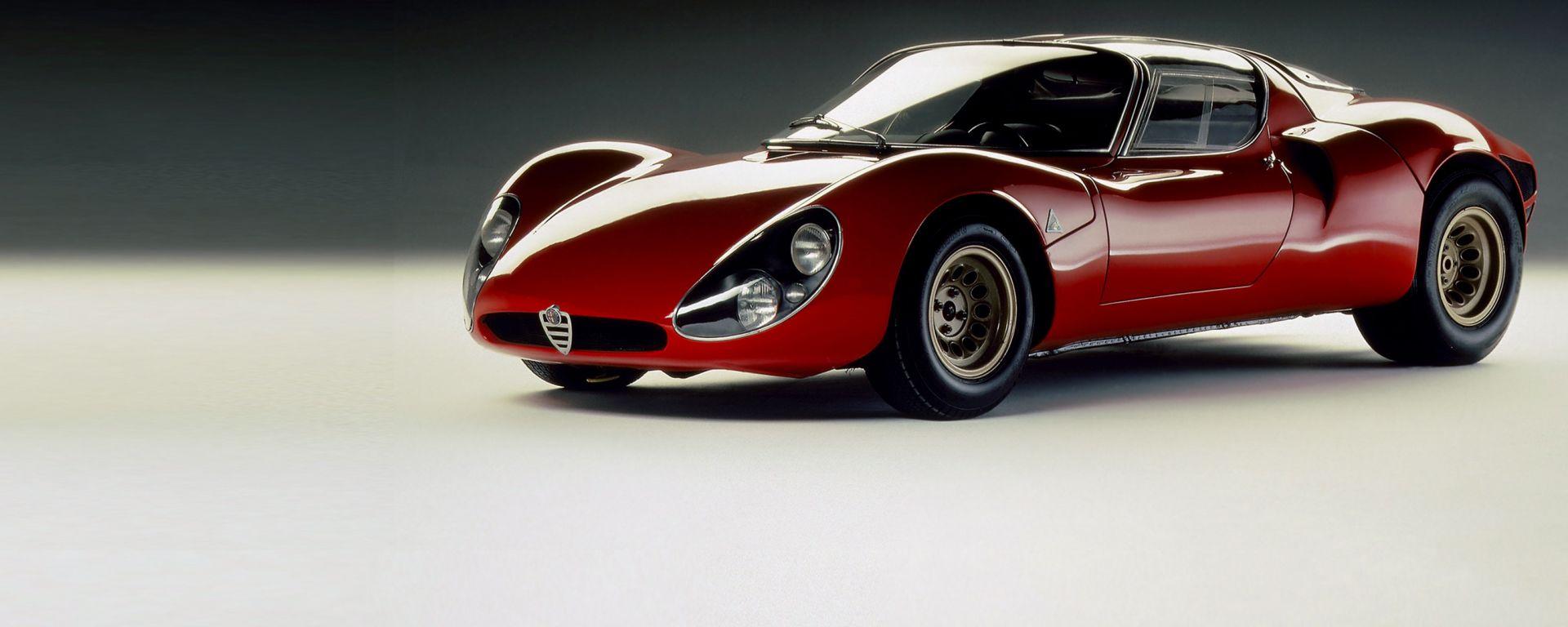 Alfa Romeo 33 Stradale: secondo alcuni, la più bella auto di sempre