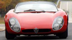 Alfa Romeo 33 Stradale, vista anteriore