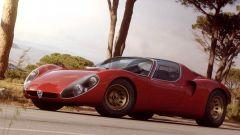 Alfa Romeo 33 Stradale, vista di 3/4 anteriore