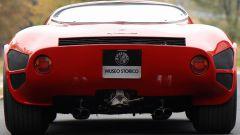 Alfa Romeo 33 Stradale, vista posteriore
