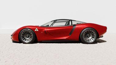 Alfa Romeo 33 Stradale/Visione: come onorare un'auto leggendaria