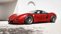 Rendering e come è fatta Alfa Romeo 33 Stradale Visione