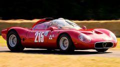 Alfa Romeo 33/2 Flèron: prototipo 2 posti del 1967 da 270 cv. Detta anche «Periscopio», è uno dei tre esemplari esistenti