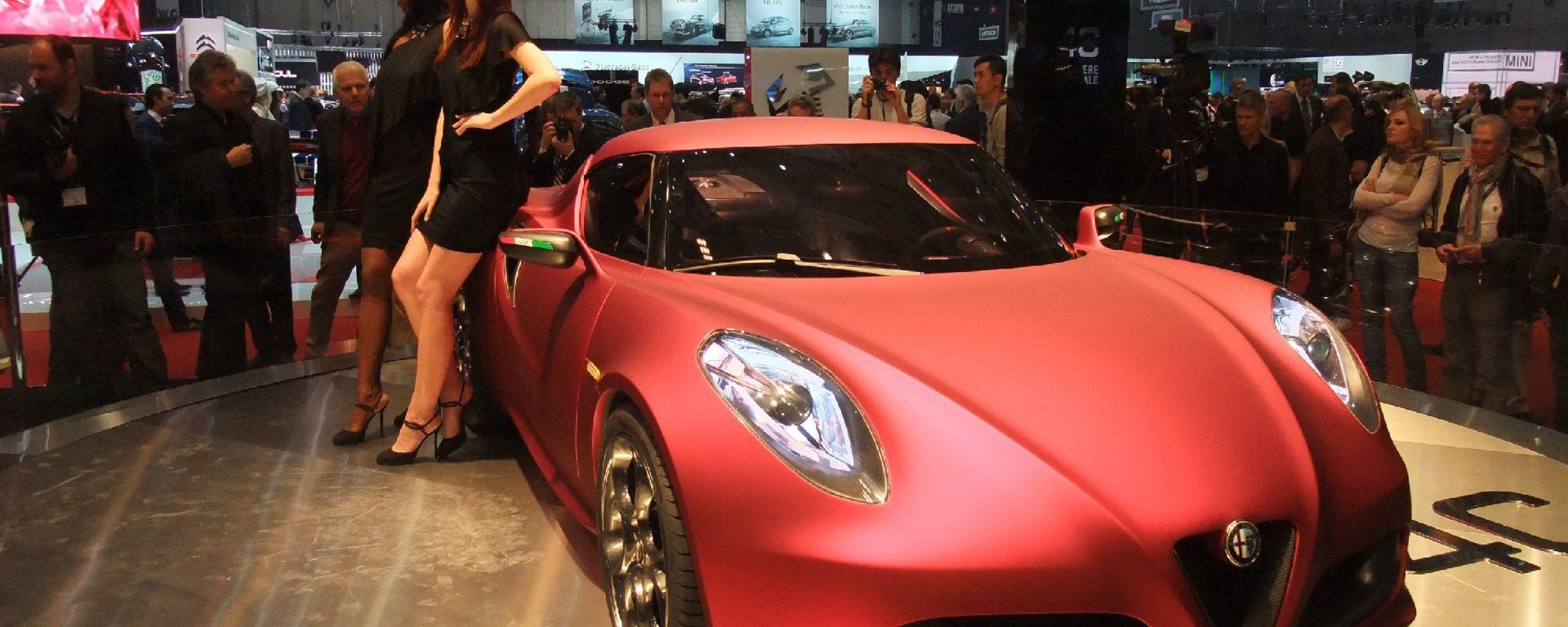 Alfa Romeo 4C Concept, le nuove foto