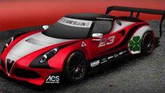 Alfa Romeo 4C avrà un motore Zytek V8 3 litri proveniente dalla serie Formula 3000