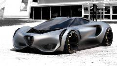 Alfa Romeo 4C by Yung Presciutti, una proposta con fari sottili e verticali