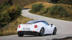 alfa romeo 4c competizione dinamica posteriore