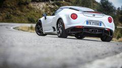 Alfa Romeo 4C Competizione: vista 3/4 posteriore