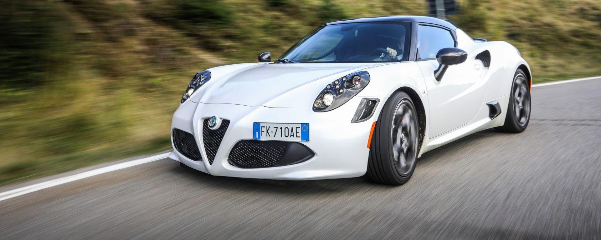 nuovi speciali vendite calde nuovo stile Alfa Romeo 4C Competizione: scheda tecnica, prova su strada ...