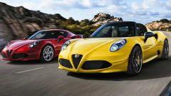 Alfa Romeo 4C, la Coupé esce di produzione, la Spider resta in vendita