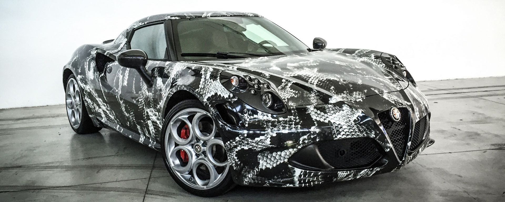 Alfa Romeo 4C Deadly Snake by Garage Italia Customs