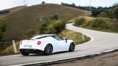 Alfa Romeo 4C impegnata al Mottaring