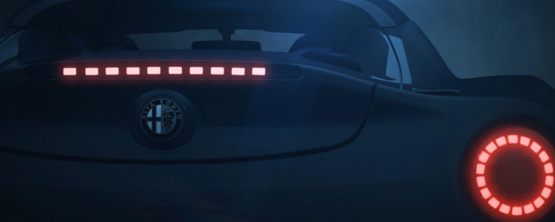 Alfa Romeo 4C Spider, il video