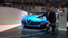 Alfa Romeo 4C Coupé Competizione e 4C Spider Italia: in video dal Salone di Ginevra 2018 - Immagine: 1