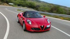 Alfa Romeo 4C Spider: l'abitacolo è ben protetto dagli spifferi