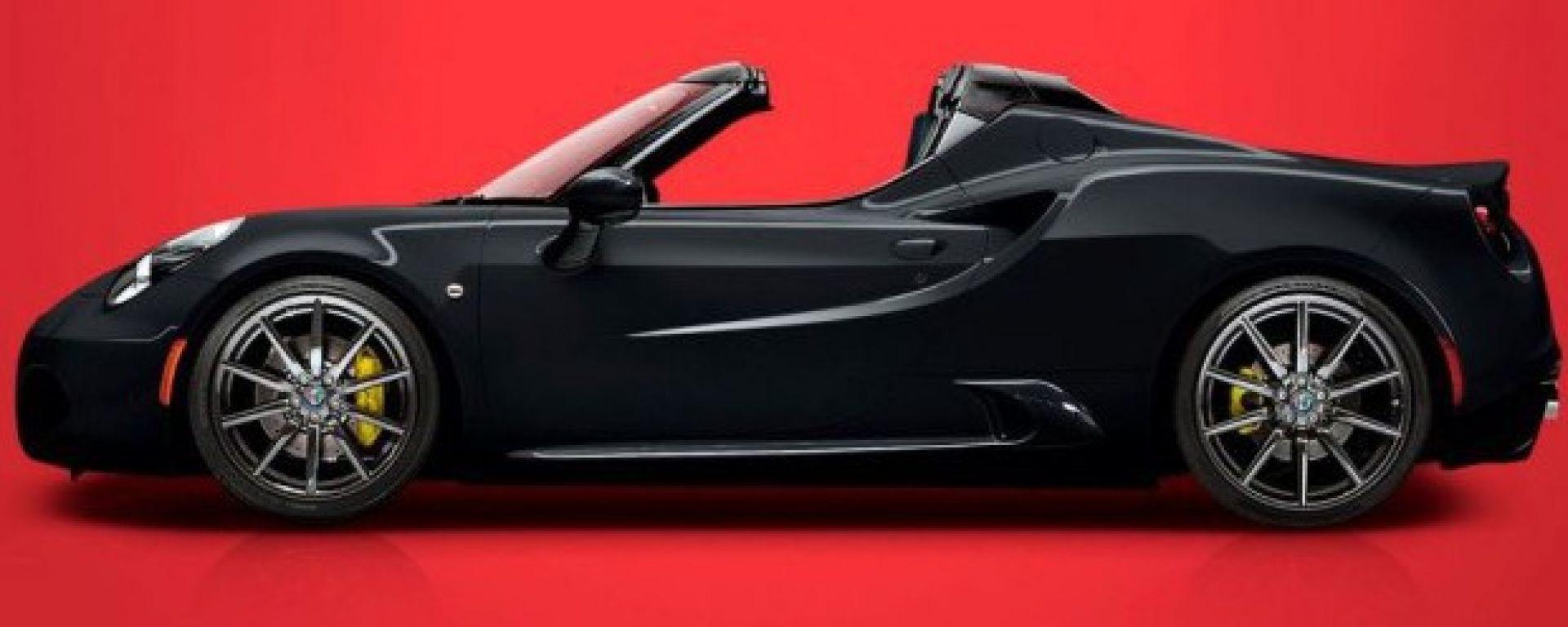 Alfa Romeo 4C Spider Special: 30 esemplari con carrozzeria nera