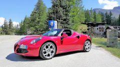 Alfa Romeo 4C Spider: vista 3/4 anteriore